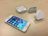Gold Apple iPhone SE 16GB Factory Unlocked Mobile Phone +Case Warranty