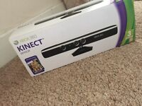 Xbox 360 Kinect perfect condition with 2 controllers and games