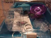 Pets at Home Dwarf or small Hamster Cage with all Accessories
