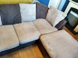 Corner sofa, great condition