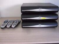 Job lot of 3x Sky + HD Boxes 500GB DRX-890C / DRX-890Z/ DRX-890W-R (One of them Wi-Fi)