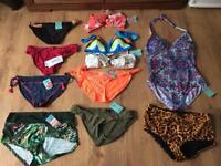 Size 14 mix swimwear brand new with tags