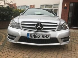 Excellent Condition AMG Line C Class , Low Mileage Fully loaded in Ebony Leather, Heated seats