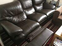 3 seater recliner settee