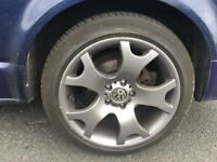 "BMW 19"" tiger claw alloys for T5"