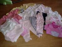 Bundle 0-3 months girl clothes