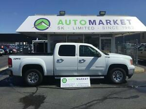2009 GMC Sierra 1500 HYBRID 4X4 CREW CAB 107KM'S LOADED!