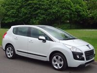 2011 Peugeot 3008 1.6 HDi FAP Exclusive SUV 5dr - ONLY 49,000 MILES - FULL PEUGEOT S/HISTORY