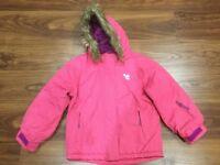 Girl's ski/winter jacket - 5/6 years old