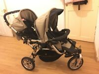 Twins prams for sale