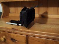 Chrosziel MatteBox 450R2 with Tiffen Polarizer and .9 Grad