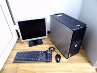 Gaming Computer PC - Complete setup with monitor and games *Perfect Christmas Gift