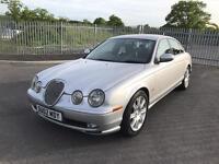 2002 jaguar s-type 2.5 v6 sport auto alloys