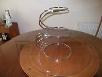 3 Tier E shaped Wedding Cake Stand as used by Professionals. Priced to sell quickly £40.