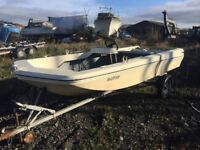 Dell Quay Style Dory Fishing Boat 14 foot with Trailer