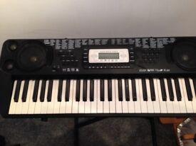 Keyboard organ and stand