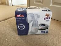 Nuby natural touch digital breast pump in excellent condition