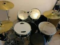 Mapex Tornado Drum Kit + Extras