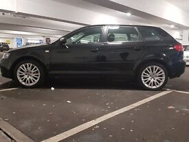 Audi A3 1.9 TDI - Black 5 dr, Manual, Full Service History, Long MOT and Cambelt recently changed,
