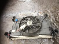 07 MERCEDES A160 CDI FULL RADIATOR PACK WITH FAN