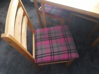 Table and chairs in excellent condition.