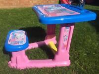 Peppa pig child's desk