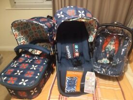 Cosatto giggle 2 tootle pip travel system 3 in 1