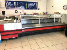 Meat Display, Machines with Equipment