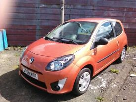 2008 Renault Twingo 1.2 Extreme mot to December 53000 miles with service history