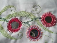 Learn to sew on Shisha Mirrors at Forty Hall - Enfield