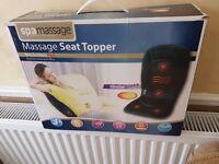 Seat massage topper