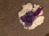 Wedding bouquet fake