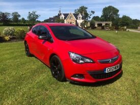 2012 VAUXHALL ASTRA 2.0CDTI GTC RED MANUAL **LOVELY CAR** LOW MILEAGE** 3 MONTHS WARRANTY**