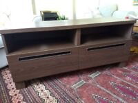 Ikea TV bench with drawers