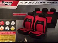 """RS Racing"" Car Seat Covers"
