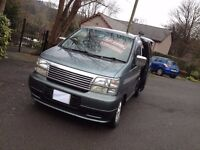 NISSAN ELGRAND TD DAY CAMPER SURF BUS/HI SPEC/BRAND NEW KITCHEN UNIT HOOK UP/LIKE MAZDA BONGO