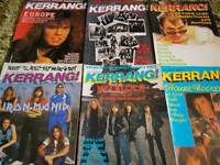 Over 400 KERRANG, RAW, METAL HAMMER, CLASSIC PROG / ROCK, MUSIC MAGAZINES