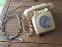Vintage cream dial telephone