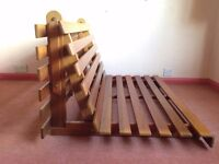 Double-Bed Folding Futon Frame (& Sofa Frame) - Great condition