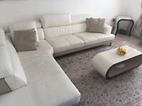DFS Sofa less than two years old for sale with/without tables.
