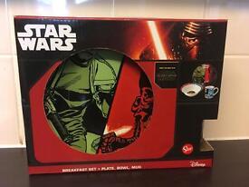 New Star Wars plate set