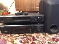 Sony 5.1 Surround Sound System.