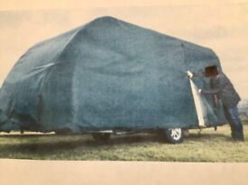 Quality used caravan cover