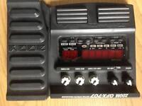 Zoom GFX707effects pedal