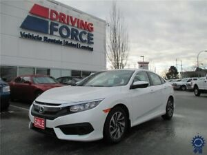 2017 Honda Civic EX 5 Passenger Front Wheel Drive, 2.0L Gas