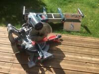 "Bosch GCM 12 GDL 12"" double bevel glide professional mitre saw"