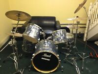 Pearl Export EXR drum kit in good condition