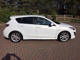 Mazda 3 SPORT Low Mileage 39,000 Pearlescent White
