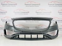MERCEDES A CLASS AMG FACELIFT W176 GENUINE GREY FRONT BUMPER 2015-2018 [PC260]