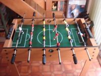 FOOTBALL TABLE EXCELLENT CONDITION READY ASSEMBLED